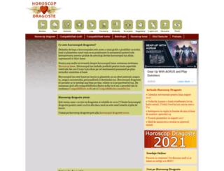 horoscopdragoste.ro screenshot