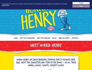 horridhenry.com screenshot