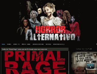 horroralternativo.com.br screenshot