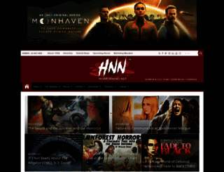 horrornews.net screenshot