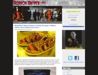horrorsniped.com screenshot