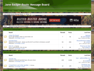 horsebooks.proboards.com screenshot