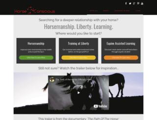 horseconscious.com screenshot