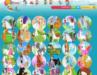 horsegames3.com screenshot