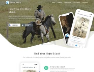 horsematch.com screenshot