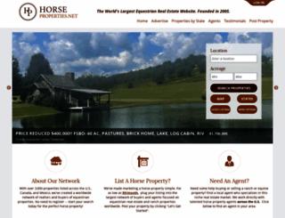 horseproperties.net screenshot
