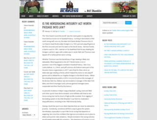 horseracingbusiness.com screenshot