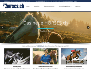 horses.ch screenshot