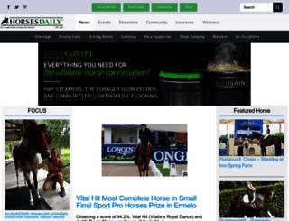 horsesdaily.com screenshot
