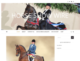 horseshowwire.com screenshot