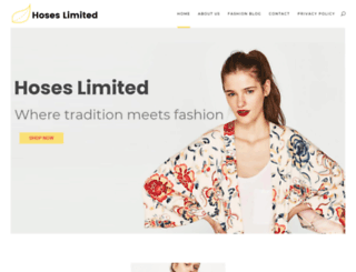 hoses-limited.com screenshot