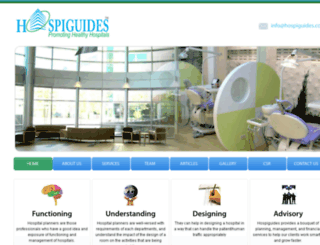 hospiguides.com screenshot