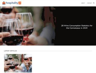 hospitality21.com screenshot