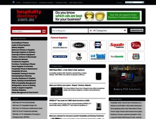 hospitalitydirectory.com.au screenshot