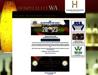 hospitalitywa.com screenshot