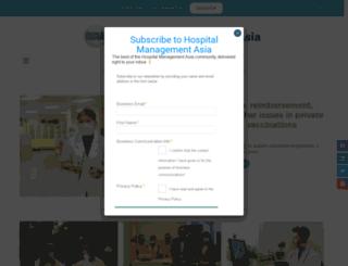 hospitalmanagementasia.com screenshot