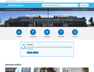 hospitalposadas.gov.ar screenshot