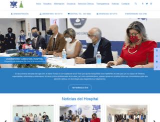 hospitalsantotomas.gob.pa screenshot