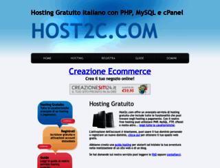 host2c.com screenshot