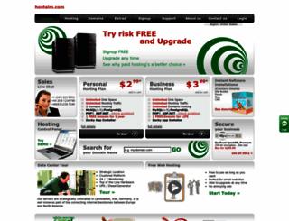 hostaim.com screenshot