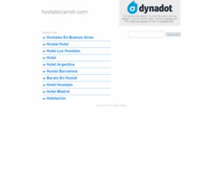 hostalelcandil.com screenshot