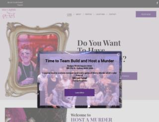 hostamurder.com.au screenshot
