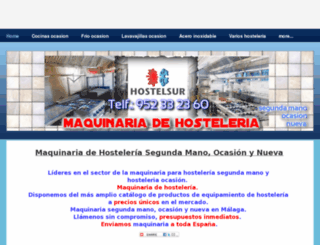 hosteleriaocasion.es screenshot