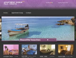 hostelpula.com screenshot