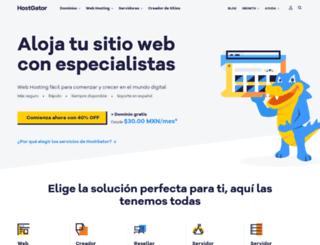 hostgator.com.mx screenshot
