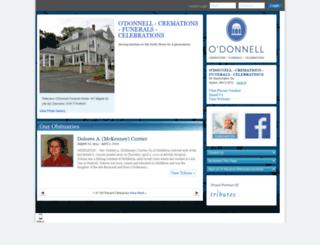 hosting-25014.tributes.com screenshot