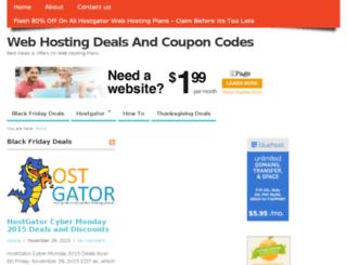 hosting-coupon-code.com screenshot
