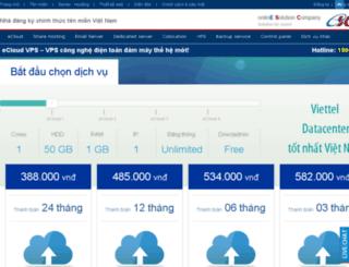 hosting.esc.vn screenshot