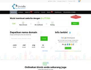 hosting.uwiebe.com screenshot