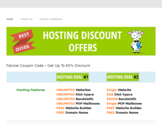 hostingdiscountoffer.org screenshot