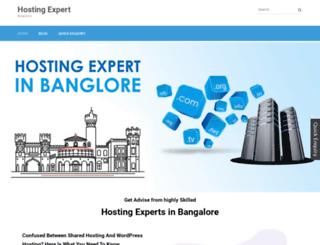 hostingexpertsbangalore.in screenshot