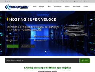 hostingpartner.it screenshot