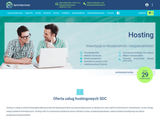hostingsdc.pl screenshot