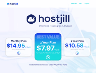 hostjill.com screenshot