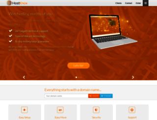 hostknox.com screenshot