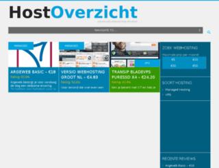 hostoverzicht.nl screenshot