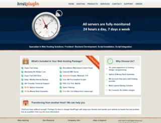 hostplugin.com screenshot