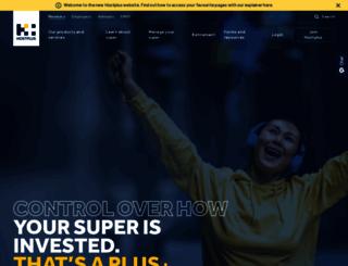 hostplus.com.au screenshot