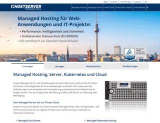 hostserver.de screenshot