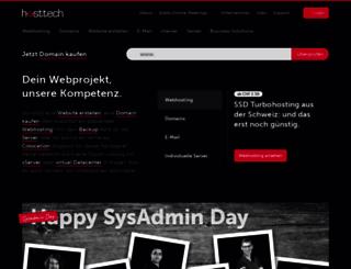 hosttech.ch screenshot