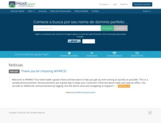 hosttech.com.br screenshot