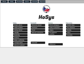 hosys.cz screenshot