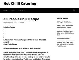 hotchili.info screenshot