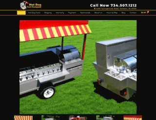 hotdogcartcompany.com screenshot