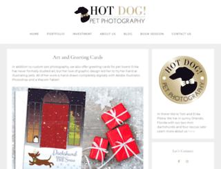 hotdogpetart.com screenshot