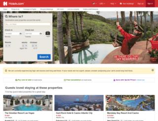 hoteis.com screenshot